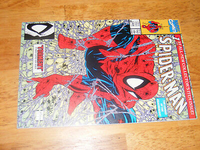 Marvel Spider-Man #1 Torment Comic Todd McFarlane 1990 NM Beautiful Book