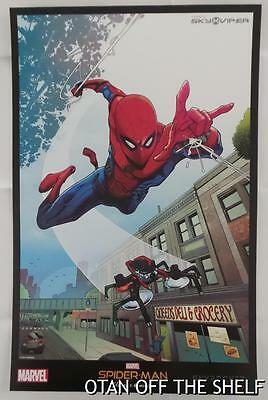 SDCC Comic Con 2017 MARVEL / SKYROCKET Spider Man HOMECOMING Poster