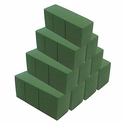 20pcs Green Oasis Ideal Bricks Florist Floral Foam Block Wet Brick Floral Home D