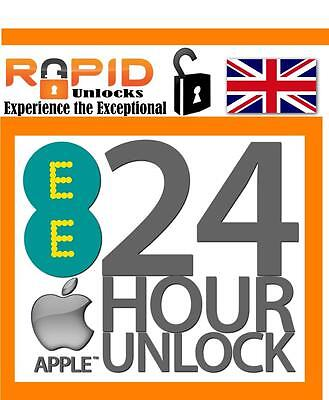 Fast 24 - 48 For Ee Unlocking Service For Iphone 5 5S 5C 6 6S Se 6S 6S Plus