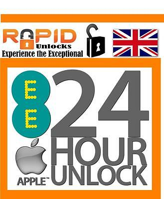 24 Hour Fast Unlocking Service For Ee T-Mobile Virgin For Iphone 5S 6S Plus Uk