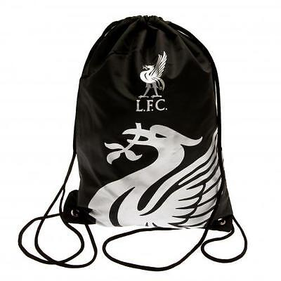 Liverpool Gym Bag RT PE Swim Black LFC Gift Fan New Official Licensed Product
