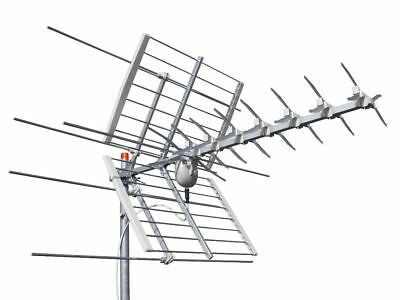Offel Antenna Combi Speed Z Hd Sostituisce Fracarro 213202 Sigma Combo Uhf+Vhf