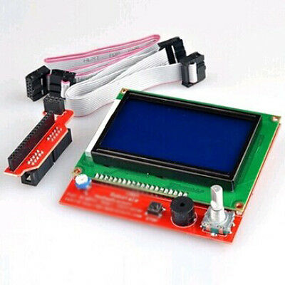 RAMPS 1.4 LCD 12864 Display Controller Board With Smart Adapter for Reprap Men