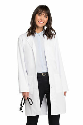 "Workwear Stretch 4403 Unisex 38"" Unisex Lab Coat Medical Uniforms Scrubs"