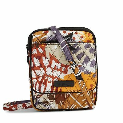 Vera Bradley Mini Hipster Crossbody Bag in Painted Feathers