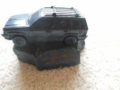 Jeep Collectible Paperweight  Award-1996- I million Grand Cherokee vehicles