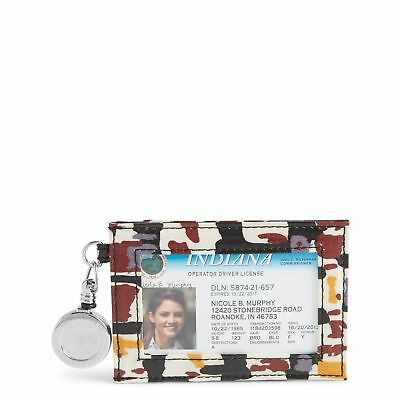 Vera Bradley Retractable Lanyard ID Case