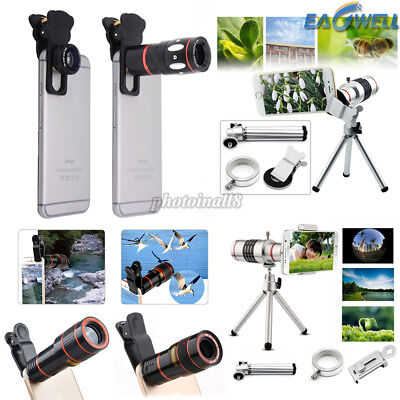 For iPhone Samsung Universal 8X 10X 12X 18X Zoom HD Phone Camera Lens Telescope