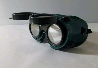 *LOT OF 3* Grinding/Welding Goggles, Safety lens ANSI with flip-up glasses