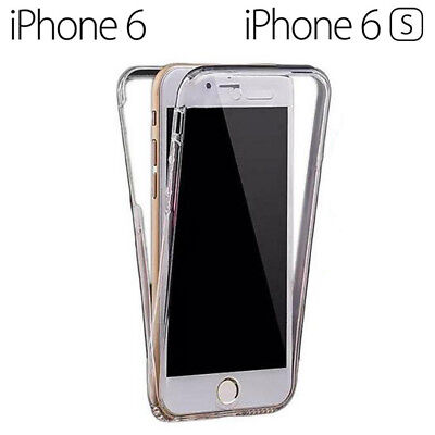 Funda Proteccion 360º Gel TPU Hibrida Transparente para iPhone 6 - 6S