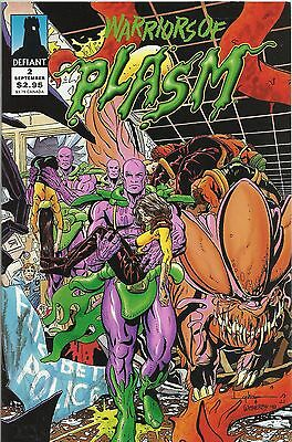 Warriors Of Plasm # 2, Defiant USA, 1993, David Lapham