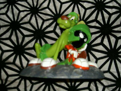 Wb Warner Bros Looney Tunes Marvin The Martian & K9 Statue
