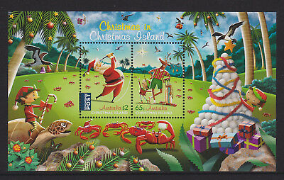 Christmas Island 2017 : Christmas - Mini-sheet Mint Never Hinged