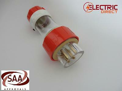 5 Pin 3 Phase 20 Amp 20A Straight Plug IP66