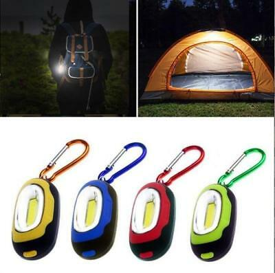 Mini Portable Pocket LED Light Torch Lamp Flashlight Keychain Keyring Waterproof
