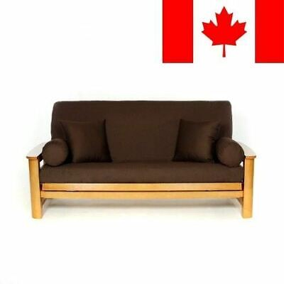 Lifestyle Covers Brown Full Size Futon Cover