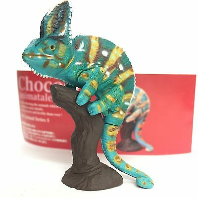 Choco Q Mini Figure Veiled Chameleon Changed body color Kaiyodo Japan choco egg