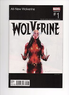 All New Wolverine #1 HIP-HOP  (January 2016, Marvel) NM 9.4