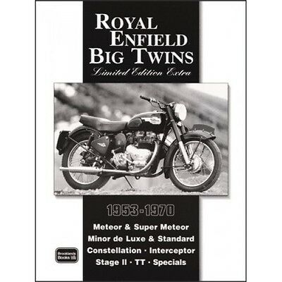 Royal Enfield Big Twins Limited Edition Extra 1953-1970 book paper