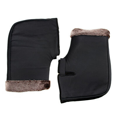 Motorcycle Scooter Quad Bike Handlebar Hand Muffs Over Gloves Winter Warmers