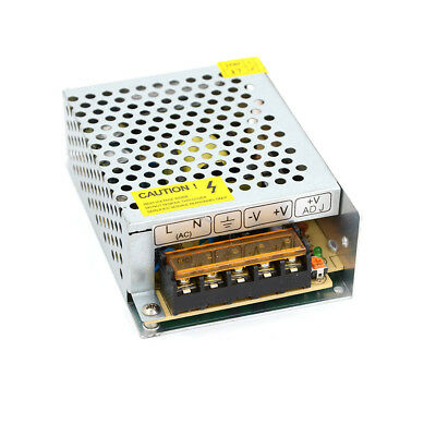 New 60W Switching Switch Power Supply Driver for LED Strip Light DC 12V 5A UK