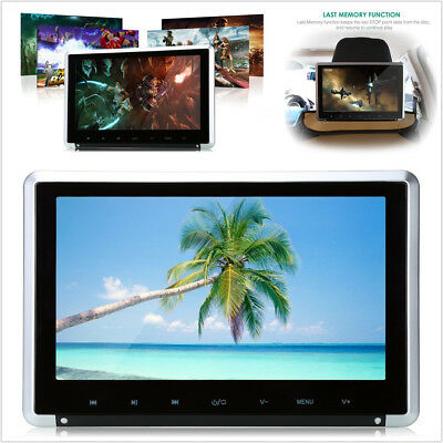"11.6"" HD LCD TFT Car Monitor Headrest Video DVD Player w/ HDMI/FM/IR/USB/SD/Game"