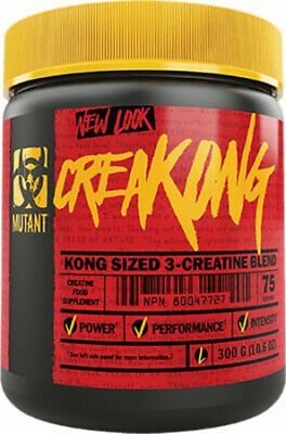 PVL Mutant Creakong Creatine Monohydrate Powder 300g Creapure & Magna Power