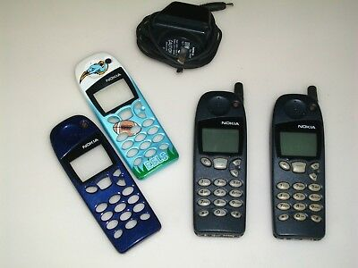 2 x Vintage NOKIA Mobile Cellular 5110 GSM Collectible Old Phones