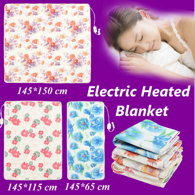 3 Size Electric Heated Blanket Electric Blanket AC 220V Warm Mattress Controller