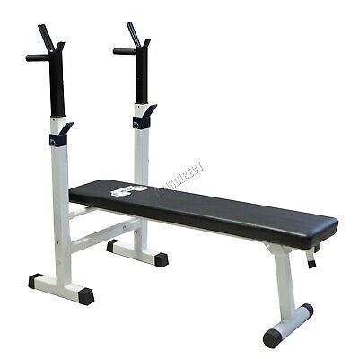 KMS Foldable Bench Press – Chest Weight Indoor Fitness Exercise Home Gym Workout
