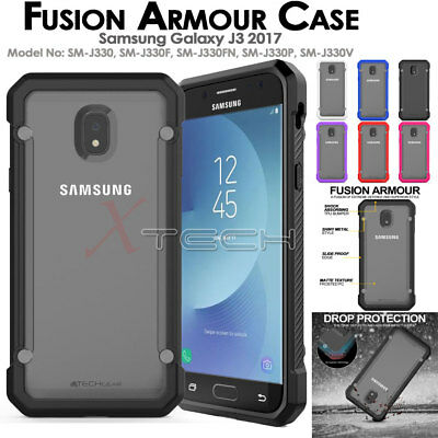 Samsung Galaxy J3 2017 [Fusion Armour] Premium Slim Hybrid Protective Case Cover