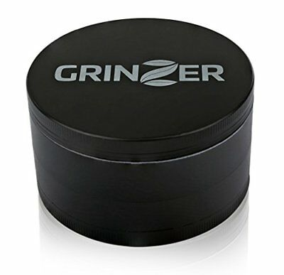 Grinzer Herb Grinder for Herbs Food Spices Tea Tobacco & More, X-Large