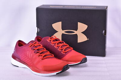 Women's Under Armour 1285796600 Charged Push Training Shoes Black Currant