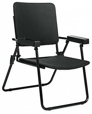 Massage Folding Chair Cushions Polyester Seat Fabric Durable Black By HoMedics