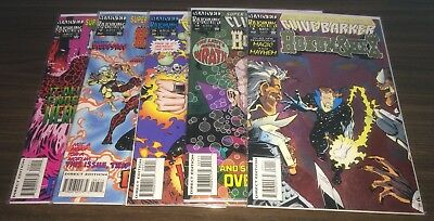 HOKUM and HEX (Clive Barker) -- #1 2 3 4 5 6 7 8 9 -- FULL Series