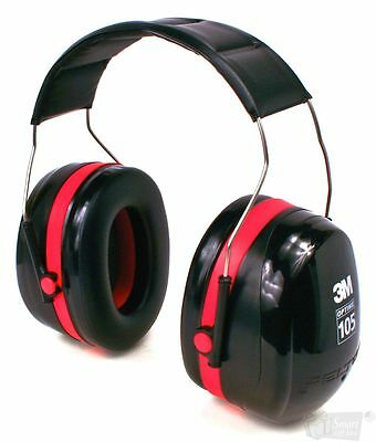Safety Earmuff 3M H10A Optime 105 Peltor Over The Head Nrr 30Db - Free Shipping