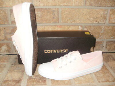 623c8aa4434b98 New Converse CT All Star Coral Low Textile Sneaker 555895F Choose Pink or  Blue