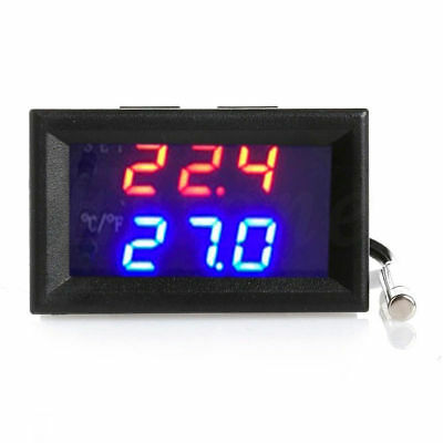 DC 12V W1209WK Digital LED Thermostat Relay Temperature Controller w/ Sensor
