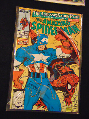 THE AMAZING SPIDER-MAN #323 (Nov 1989, Marvel)  McFarlane art