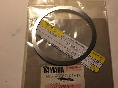 6G5-45577-02-18 Yamaha Outboard Lower Unit Shim T:0.18mm 1988-04