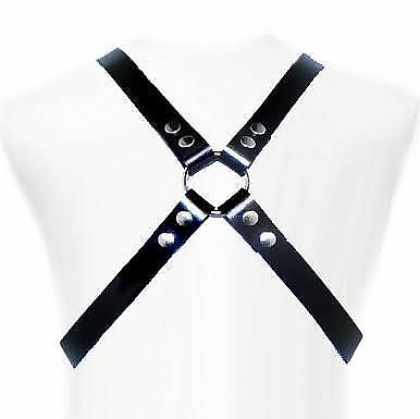 Fantasia Erotica Leather Body Basic Harness | Sexy San Valetin