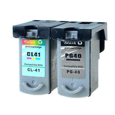 2PK Ink Black PG40 Color CL41 for Canon PIXMA iP2600 MP140 MP150 MP160 MP170