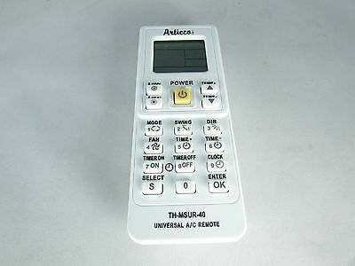 A/c Universal Remote Control For Mini-Split Th-Msur-40 With 4000+ Models Codes