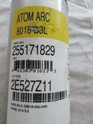 "10 Pounds of 1/8"" Atom Arc 8018-B3L Welding Rods BD-48"