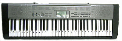 CASIO LK-120 Keyboard with AC Power Adaptor VGC
