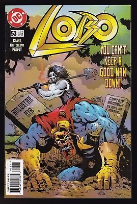 Lobo #53 Dc Comics 1998 You Can't Keep A Good Man Down