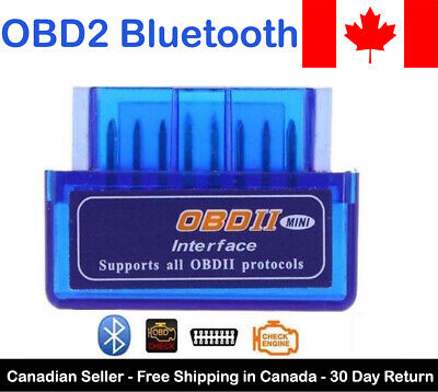 New Bluetooth OBD2 Adapter Auto Scanner For Android and PC V1.5