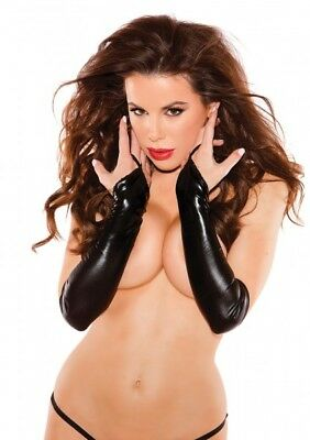 Allure Kitten Collection SEXY SIREN GLOVES BLACK OS lingerie gloves 32297920299
