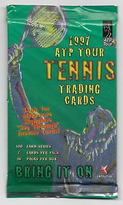 1997 Intrepid ATP Tour Tennis UNOPENED Pack (28 Available)